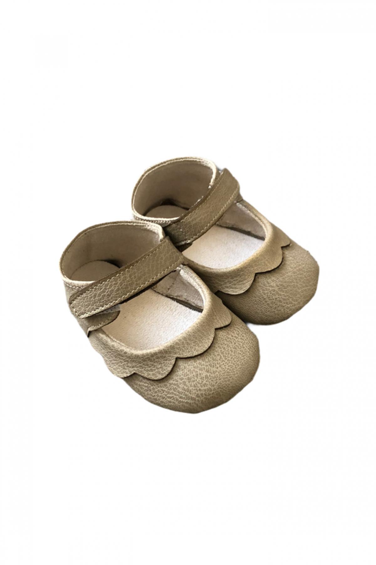 İlk Adım Bej Yazlık Ayakkabı