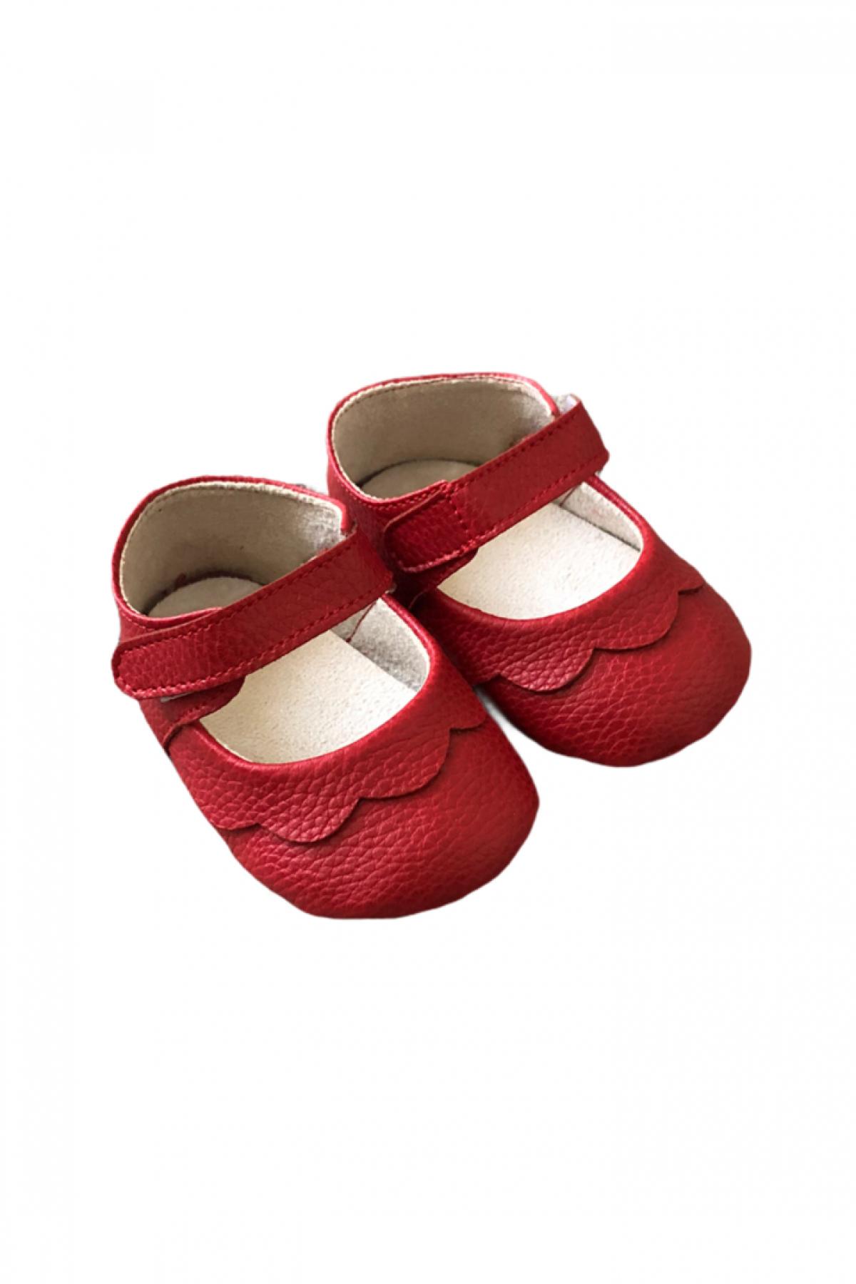 İlk Adım Kırmızı Yazlık Ayakkabı
